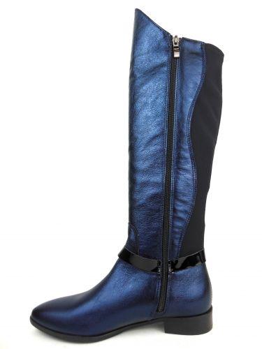 Mantrani cipő webshop   Gamis női csizma kék fekete