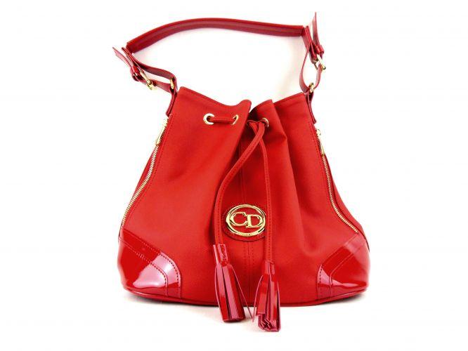 Claudio Dessi női táska piros 8a099bf461