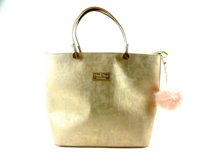 Claudio Dessi női táska arany 8820c136a9