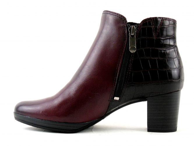 33aae454dc Mantrani cipő webshop | Marco Tozzi női bokacsizma bordó