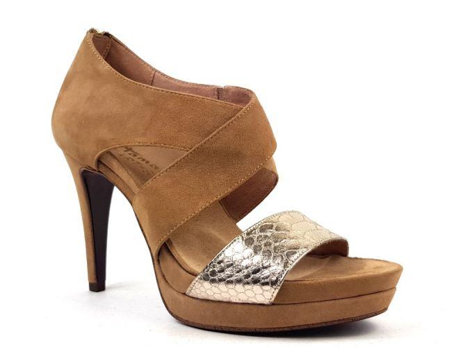 f3ff8b0b9f Mantrani cipő webshop | Tamaris női szandál bézs