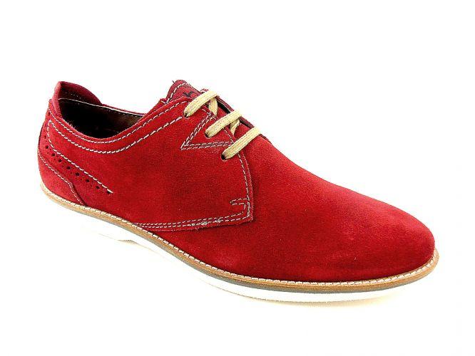 Mantrani cipő webshop | Bugatti férfi cipő piros
