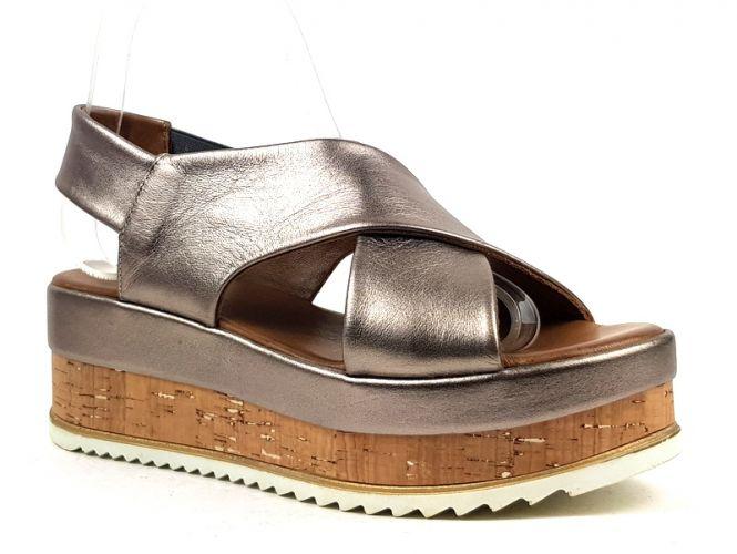 Mantrani cipő webshop | Inuovo női szandál szürke