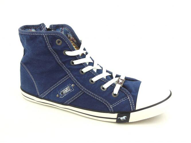 Mustang női cipő jeansblau 80e8f205e5