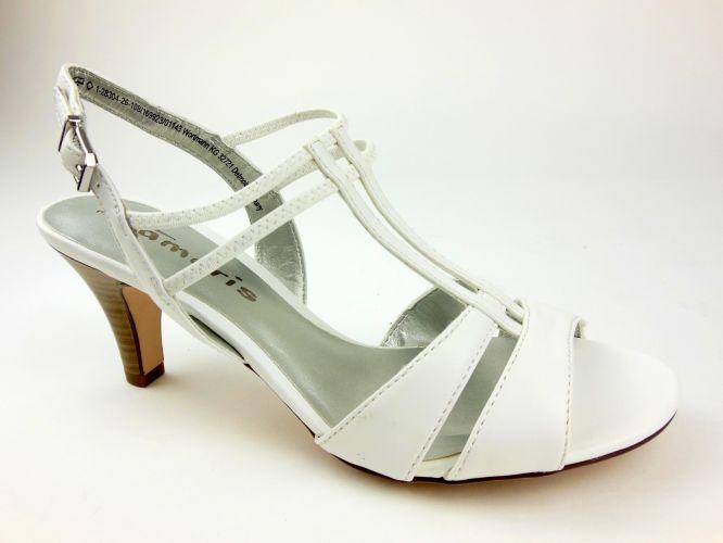 Tamaris női szandál white matt fehé 4f2ca1c336