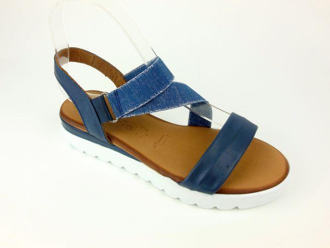e5c789d8bee Mantrani cipő webshop   Tamaris női szandál sötét kék